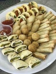 Vegetarian Finger Food Platter