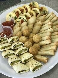 Vegetarian Finger Food Platter