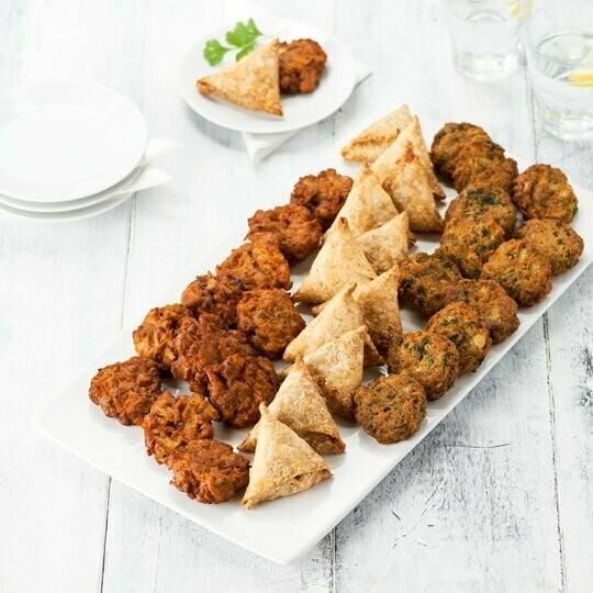 Indian Finger Food Platter