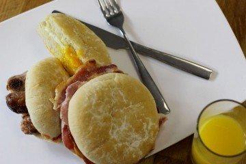 Hot Breakfast Option