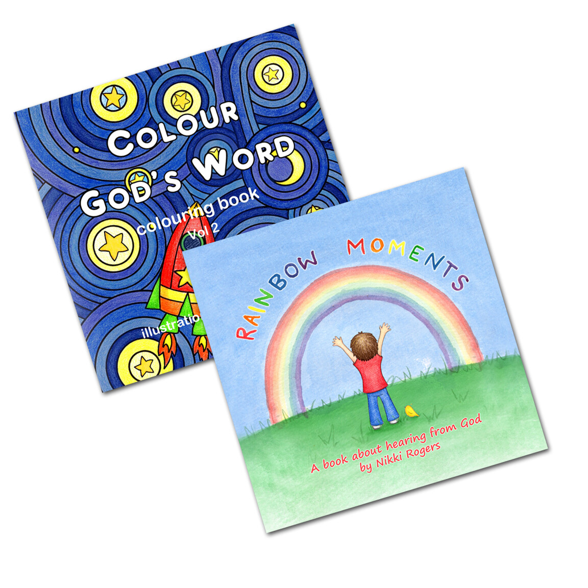 Growing with God 2 book pack