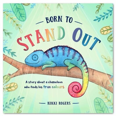 PREORDER Born To Stand Out Hardcover Book