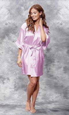 Satin Robe (Lavender)