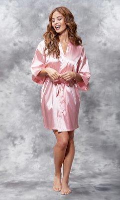 Satin Robe (Pink)