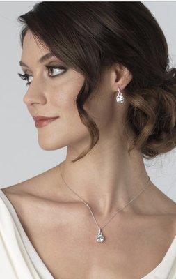 Catalina Cushion Cut CZ Jewelry Set