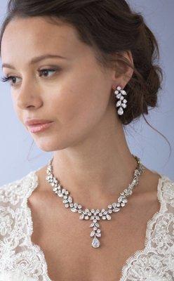 Delicate CZ Jewelry Set