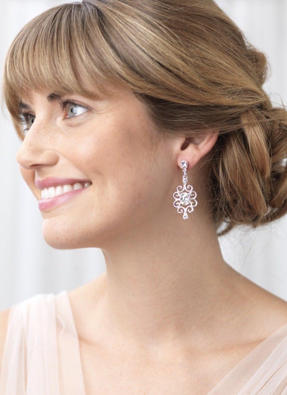 Simple Filagree Earrings
