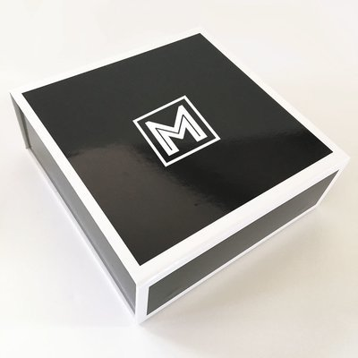 FOR THE GUYS! Black and White Monogram Gift Box