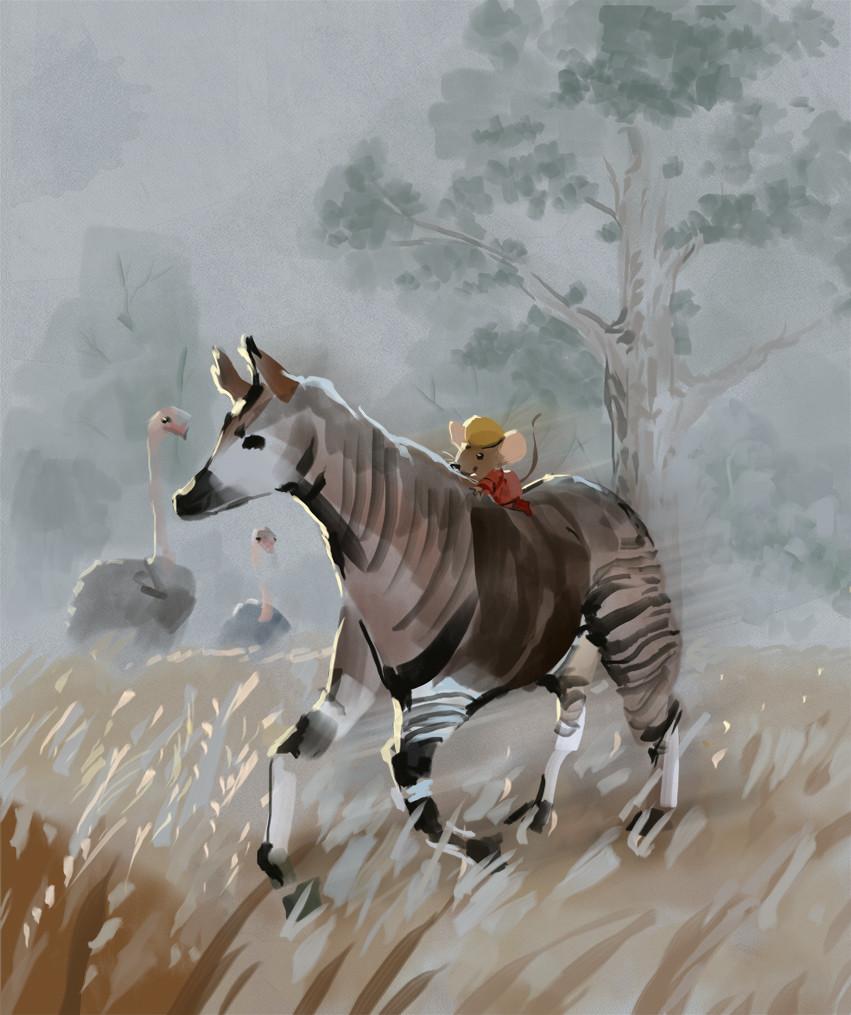 Mr Brown Mouse And The Okapi AUDIOBOOK