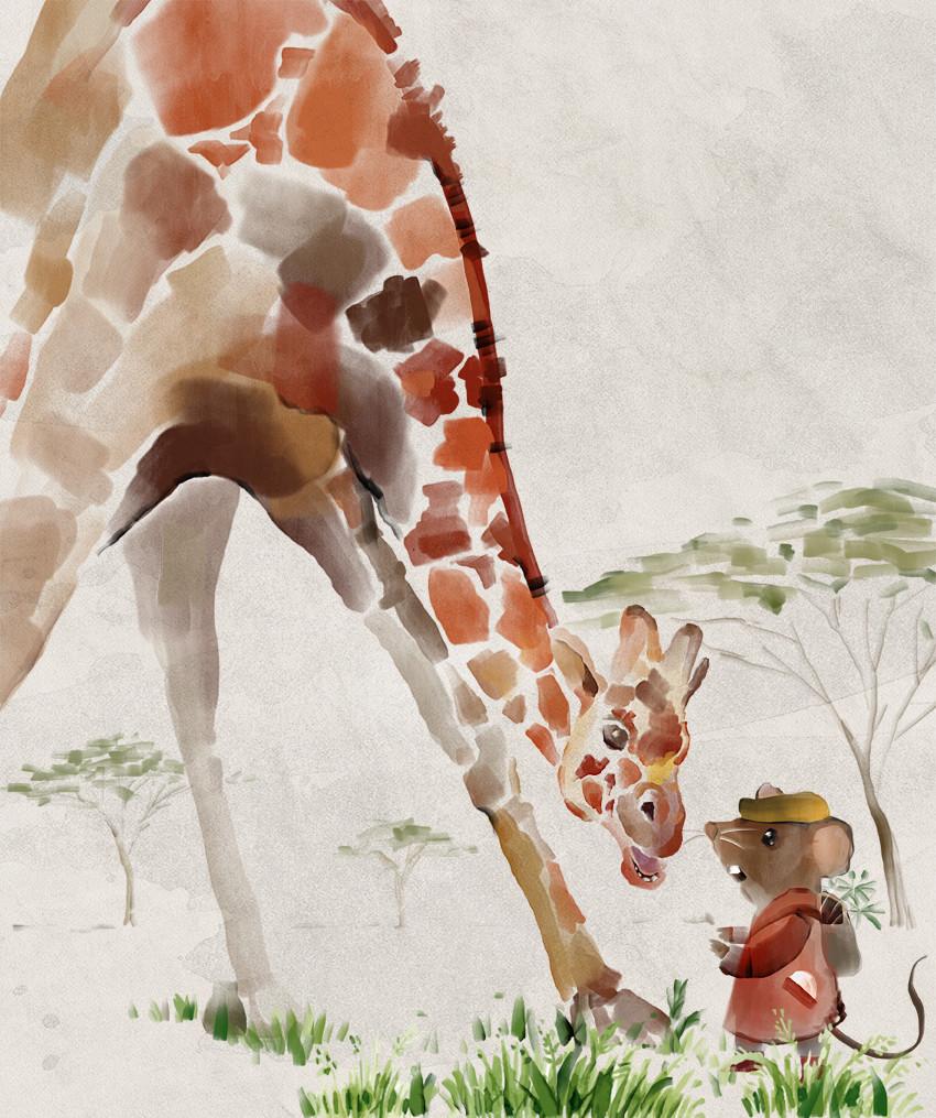 Mr Brown Mouse Meets Mrs Giraffe AUDIOBOOK