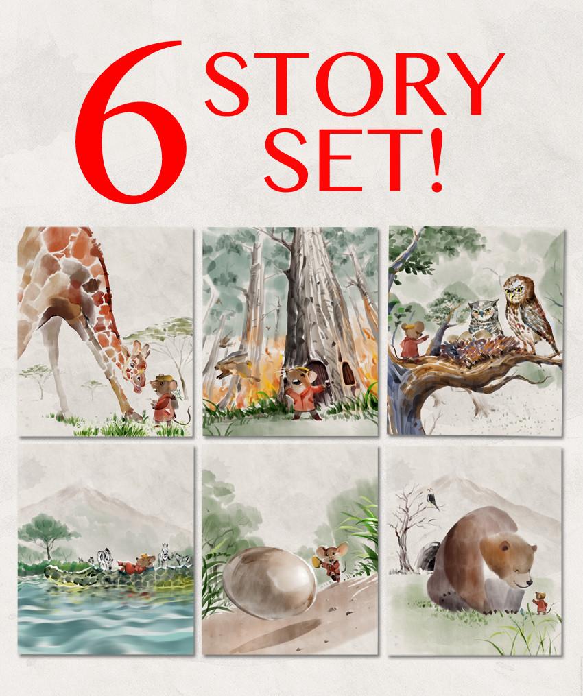 6 Story Set (1-6) SAVE 15%!