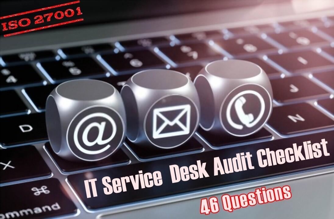 IT Service Desk Checklist | IT Help Desk Checklist