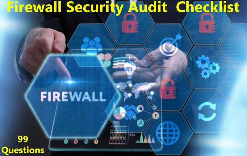 Firewall Security Audit Checklist | Network Firewall Security Audit Checklist