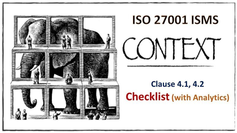 ISO 27001 Checklist - Clause 4.1, 4.2 - Context - 146 Questions