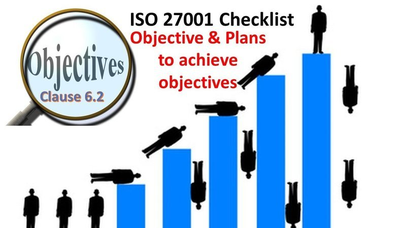 ISO 27001 Checklist | Clause 6.2 | Objectives and Plans to achieve Objectives | 104 Questions
