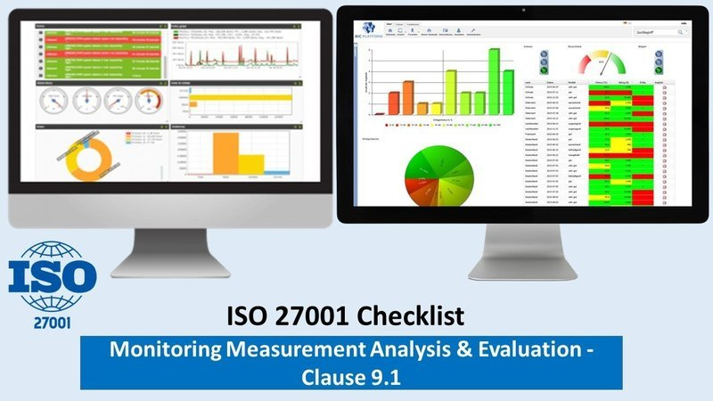 ISMS Checklist | Clause 9.1 | Monitoring Measurement Analysis, Evaluation | 81 Questions