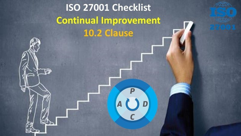 ISO 27001 Checklist | Clause 10.2 | Continual Improvement | 63 Questions