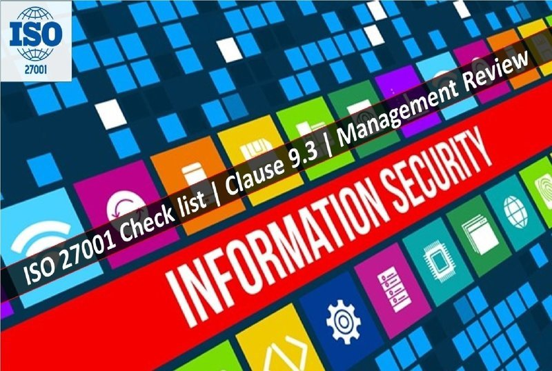 ISO 27001 Checklist | Clause 9.3 | Management Review | 31 Questions