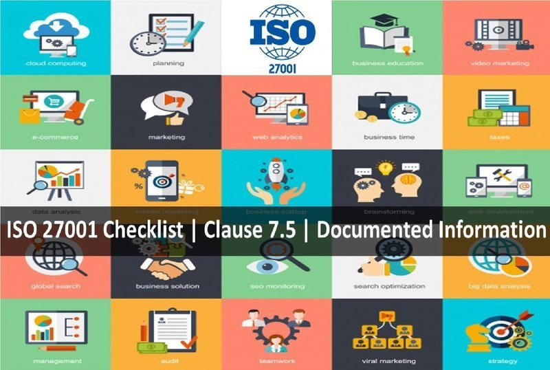 ISO 27001 Checklist | Clauses 7.5 | Documented Information | 45 Questions