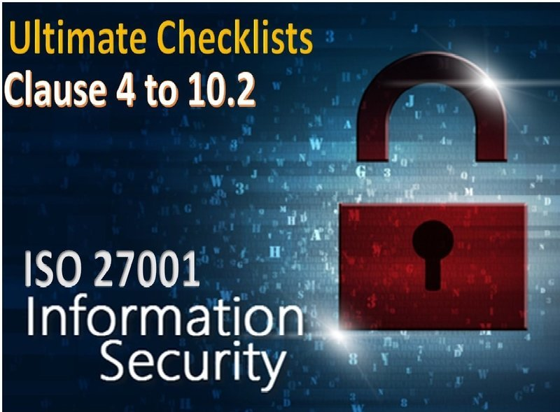 ISO 27001 Checklist - Clauses 4 to 10.2 - 1336 Questions