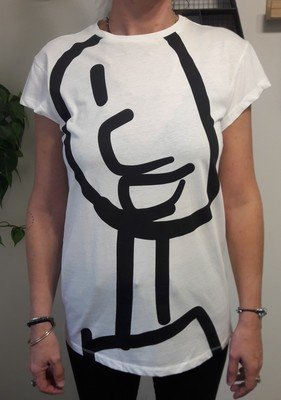 Big Figure T-shirt - White