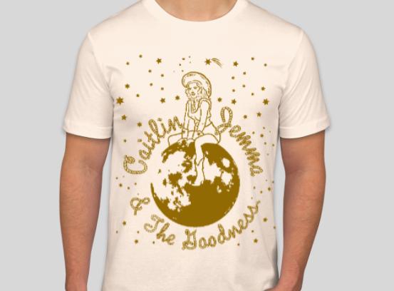 Unisex Natural White Cosmic T-Shirt