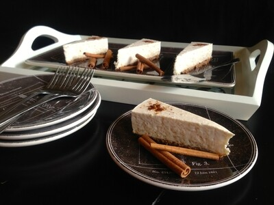 Horchata Protein Cheesecake