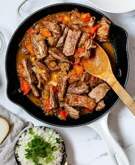 Columbian Steak Bowl