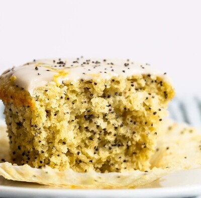 Lemon Poppy Seed Protein Muffins