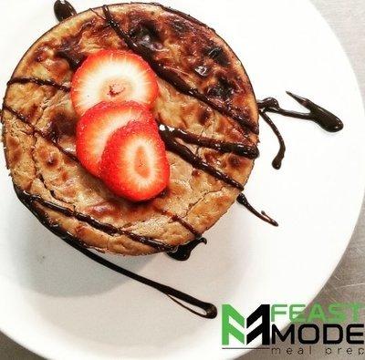 Chocolate Protein Cheesecake