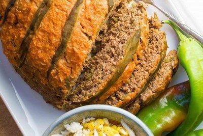 Green Chile Turkey Meatloaf