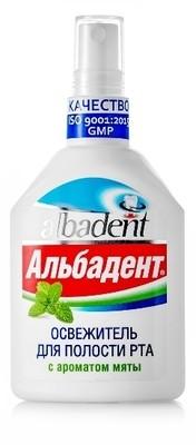 Освежитель Альбадент с ароматом Мяты 35 мл