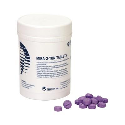 Таблетки для индикации зубного налета (250 шт.) Miradent Mira-2-Ton