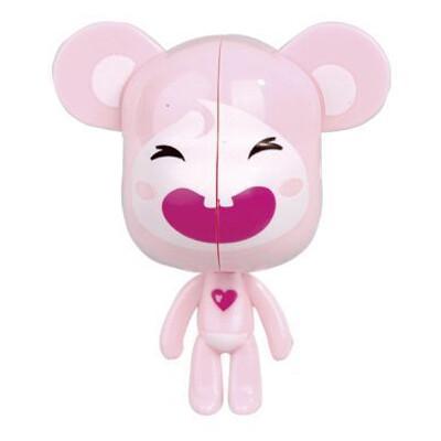 Держатель для зубной щетки Розовая мышь