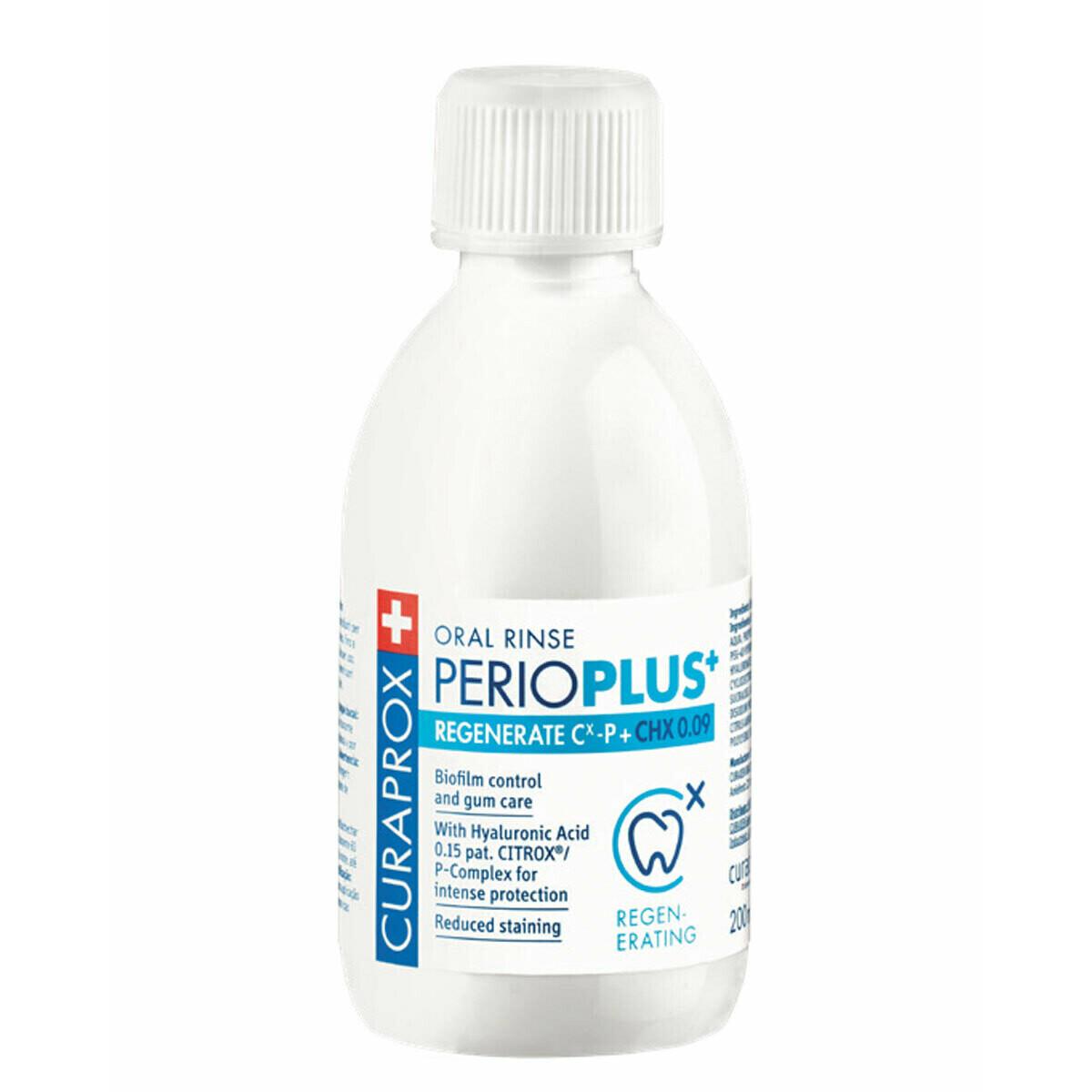 Curaprox ополаскиватель полости рта PerioPlus REGENERATE chx 0.09 %