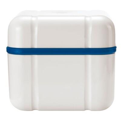 Curaprox контейнер для хранения протезов Curadent BDC 110, синий
