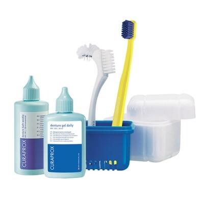 Curaprox Набор для гигиенического ухода за съемными зубными протезами Curadent BDC 190