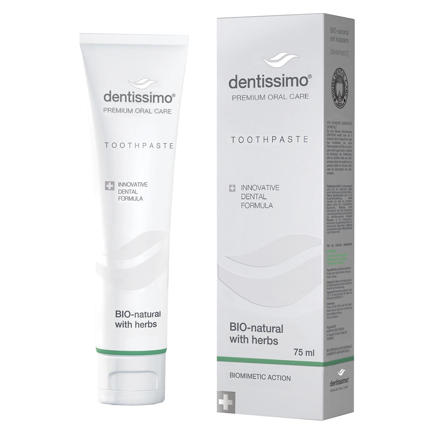 Dentissimo паста с травами BIO-NATURAL 75мл