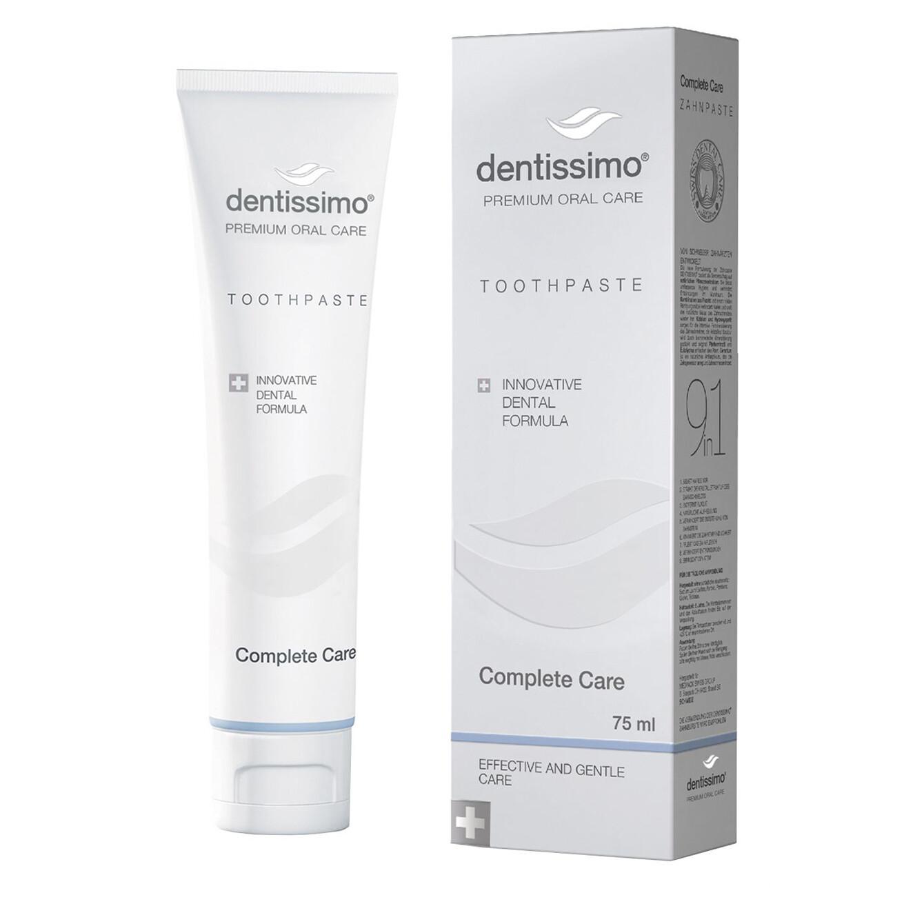 Зубная паста Dentissimo Комплексный уход, 75 мл