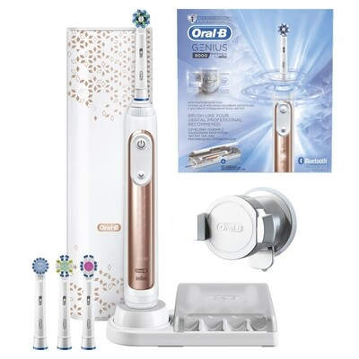 Электрическая зубная щетка ORAL-B Genius Rose Gold 9000/D701.545.6XC