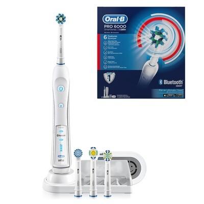 Электрическая зубная щетка Oral-B PRO 6000 D36.565.5X