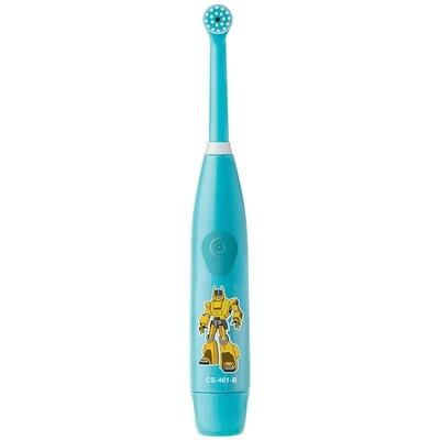 Электрическая зубная щетка CS Medica KIDS CS-461-B голубая (5-12 лет)