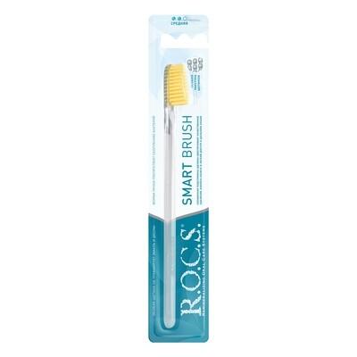 Зубная щетка ROCS (РОКС) Классическая средняя