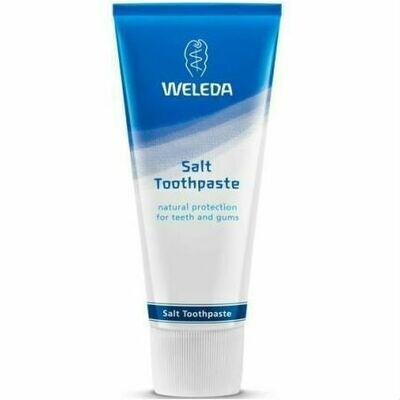 Натуральная зубная паста Weleda с минеральной солью, 75 мл