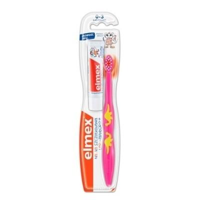 Зубная щетка ЭЛМЕКС от 0 до 3 лет
