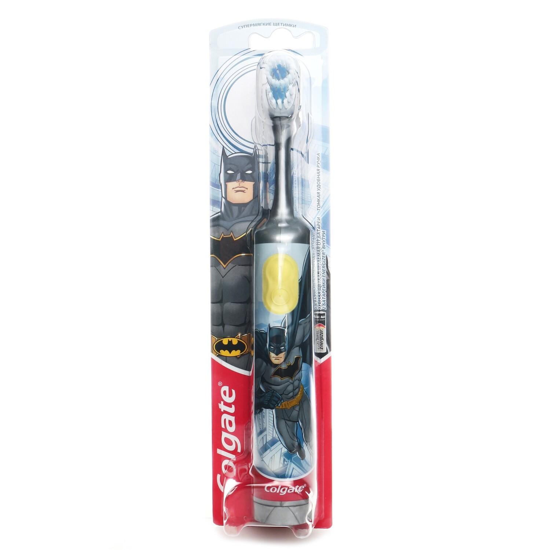 Электрическая зубная щетка Colgate Batman (с 3-х лет)