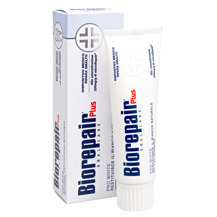 Зубная паста Biorepair Pro White Plus. Сохраняющая белизну, 75 мл