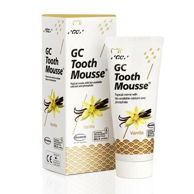 Реминерализующий гель GC Tooth Mousse со вкусом ванили