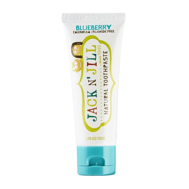 Органическая детская зубная паста Jack N' Jill Черника