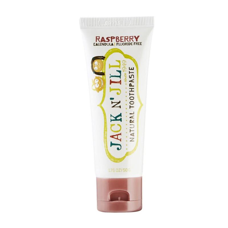 Органическая детская зубная паста Jack N' Jill Малина